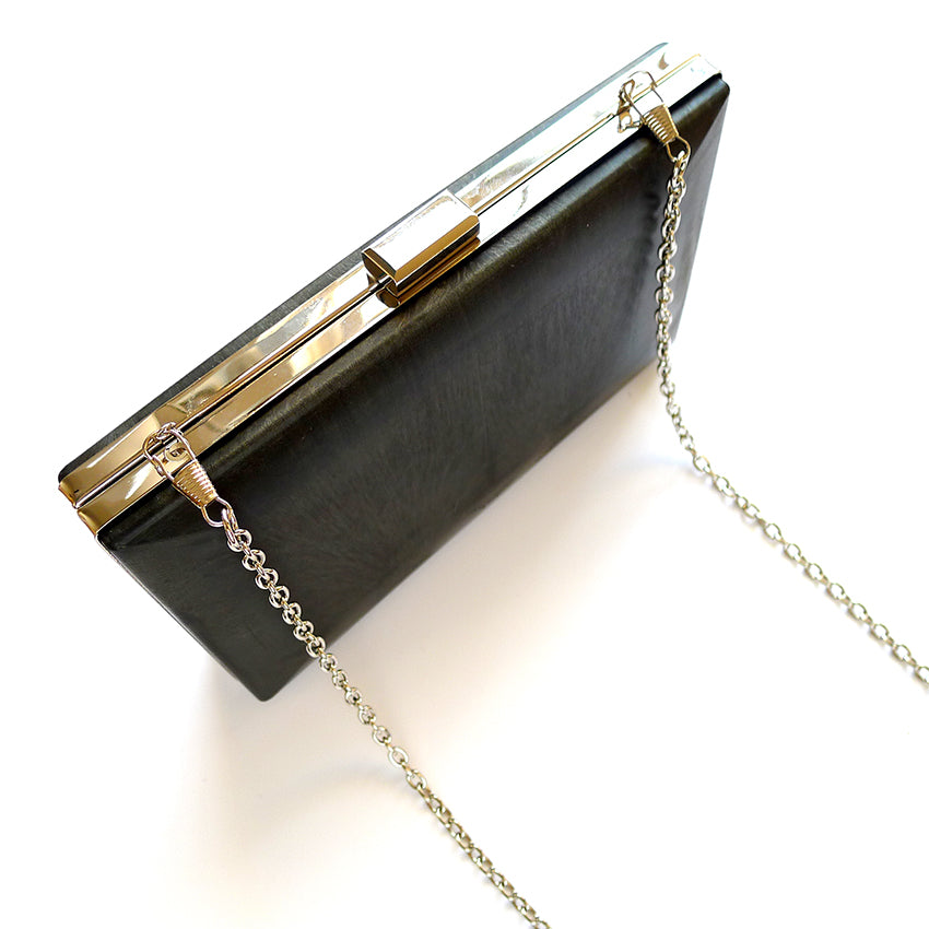 Cocktail Minaudière Clutch Frame and Chain 2 colours