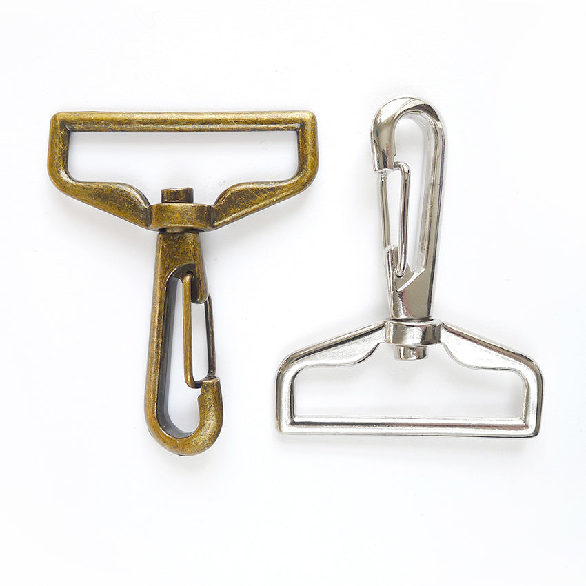 "1 1/2"" Swivel Snap Hooks 2pk - 2 colours"
