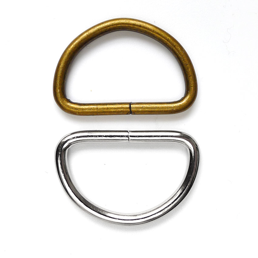 "1 1/4"" D Rings 2pk - 2 colours"