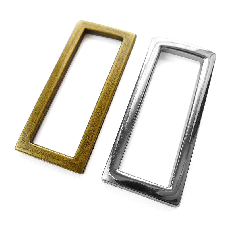 "1 1/2"" Rectangle Rings 2pk - 2 colours"