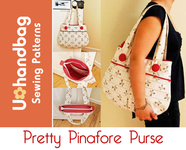 The Pretty Pinafore Purse Pattern Booklet