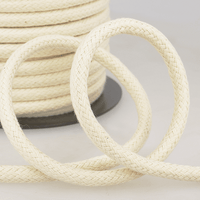 Smooth Cotton Rope Handle Cord 10mm