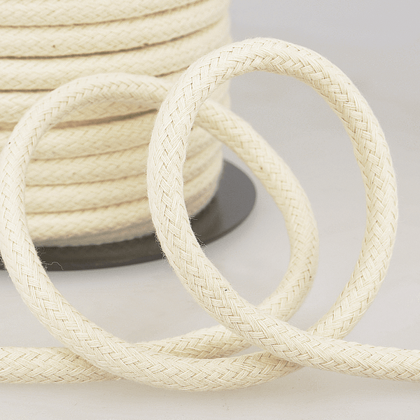 Smooth Cotton Piping Rope Cord 10mm
