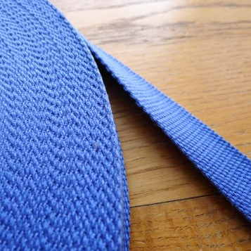 "Strong Cotton Polyester Strap Webbing (1"") 10 Colours"