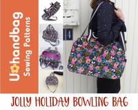Jolly Holiday Bowling Bag Pattern Booklet