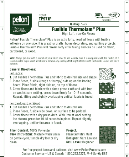 Pellon TP971F Fusible Thermolam Plus