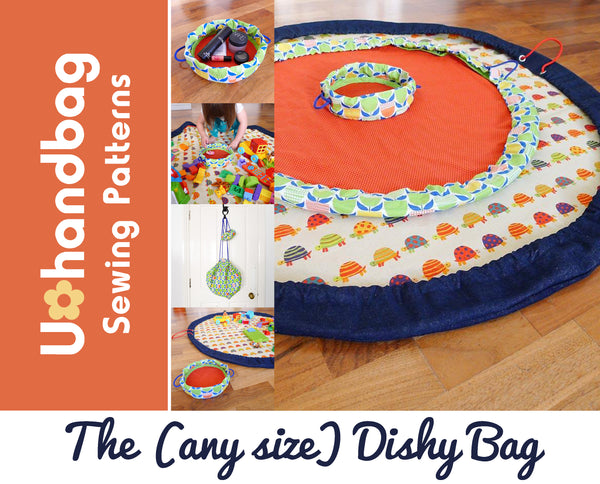 The (any size) Dishy Bag Pattern Booklet