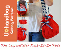 The (expandable) Pack-It-In Tote Pattern Booklet