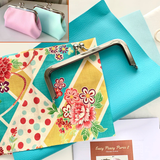Easy Peasy Purse 2 Purse Making Kit with Fabrics - Tiffany Oriental Bloom PU. LTD EDITION