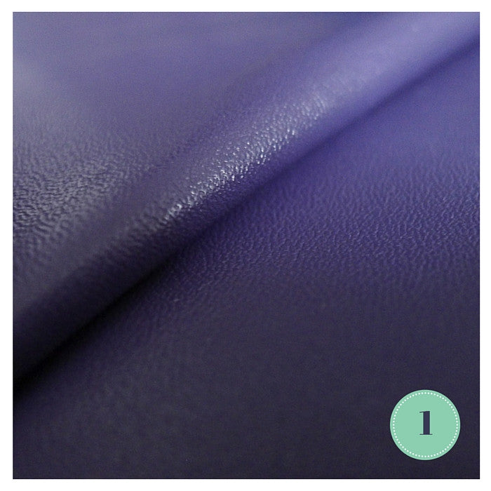 Faux Leather Pleather Fabrics (12 colours)