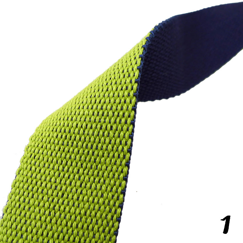 "Double-sided 2 Colour Strap Webbing Tape (1"") 3 Colours"