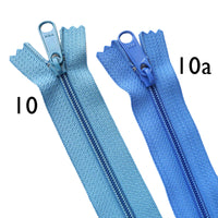 "YKK 4.5 Long Pull Handbag / Purse Zippers 24"" (22 Colours)"
