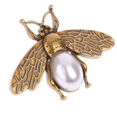 LIMITED EDITION : Pearl Bee Decoration