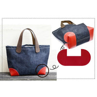 Faux Leather Bag Base Corners - 3 Colours