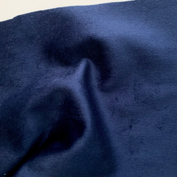 Easy-Sew Luxury Velour - MIDNIGHT BLUE