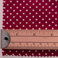 Rose & Hubble Cotton Poplin 3mm Polka Dots - DEEP RED
