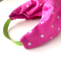 Stitched by Lisa - Adult Knotted Headband - Cotton & Steel X
