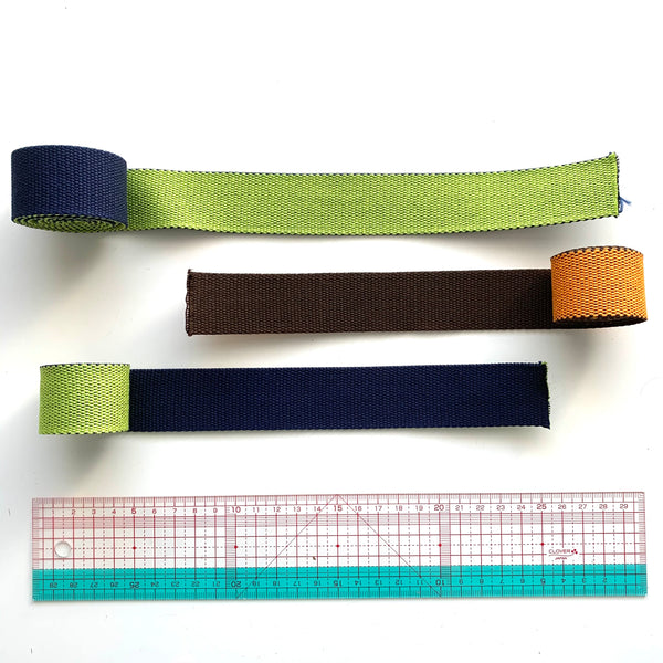 Japanese Import Webbing Roll Ends - SELECTION #1