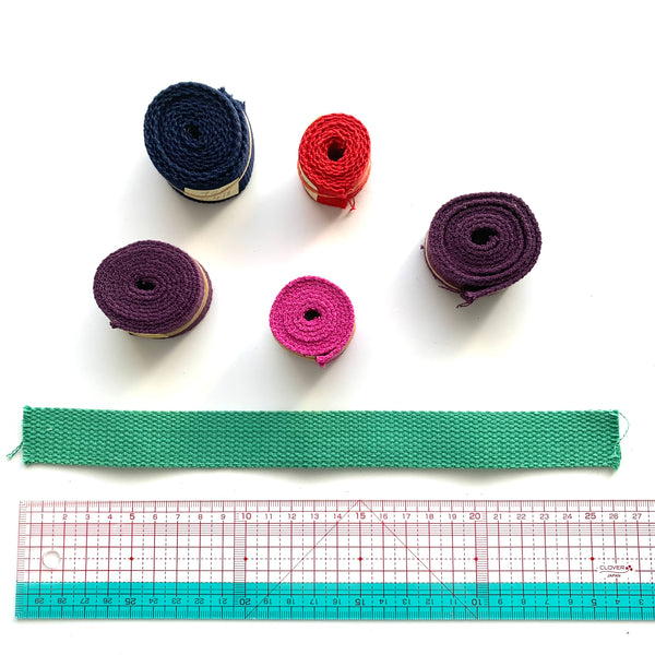 Japanese Import Webbing Roll Ends - SELECTION #2