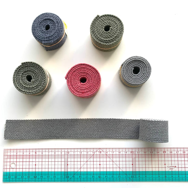 Japanese Import Webbing Roll Ends - SELECTION #3