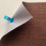 Tweed Linen-look Fabric - CHOCOLATE BISCUIT