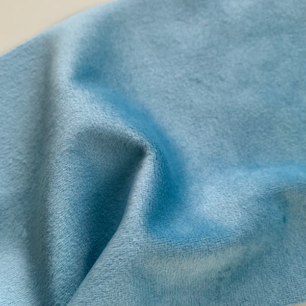 Easy-Sew Luxury Velour - PORCELAIN BLUE