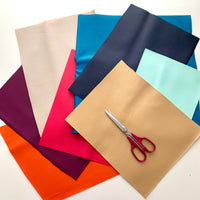 Pleather fabrics bundle - 290-300g