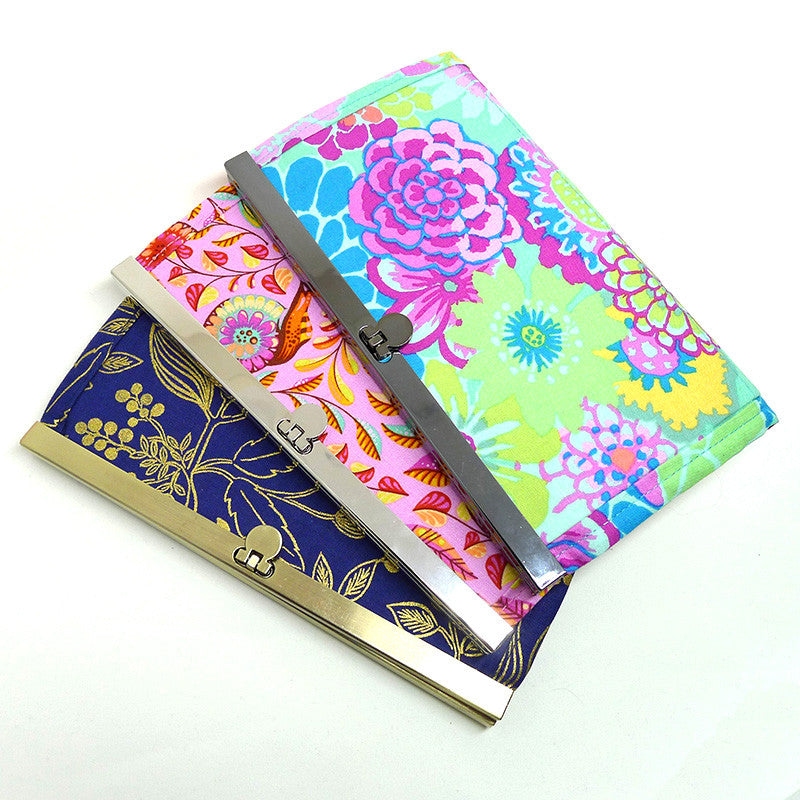 Flip Lock Wallet Frame - 3 colours (set of 2 frames) - U-Handbag