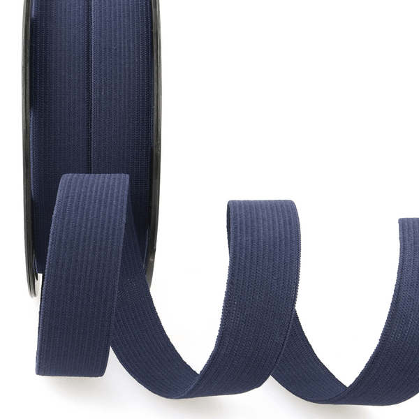 Premium Ribbon Elastic Headband 15mm - NAVY