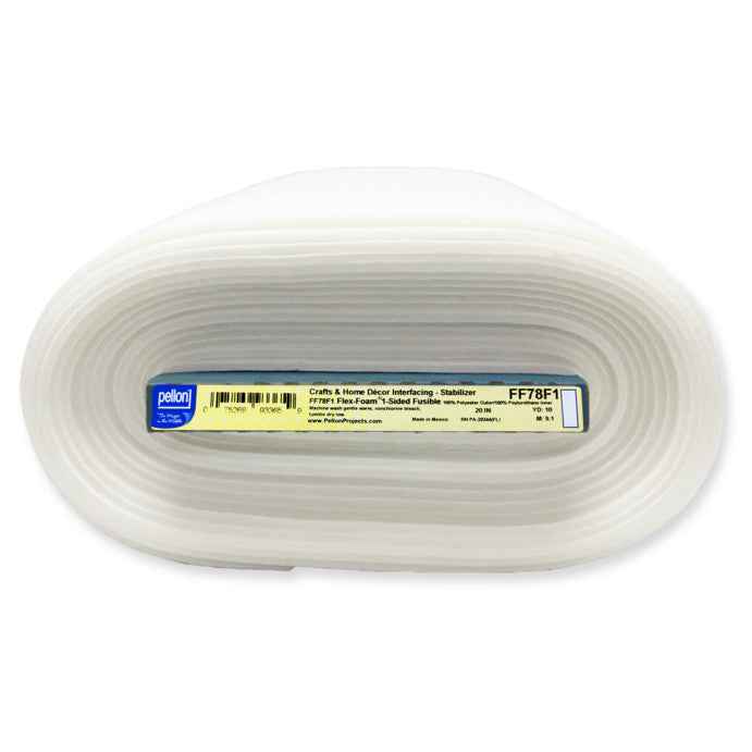 Pellon FF78F1 Flex-Foam™ 1-Sided Fusible Batting