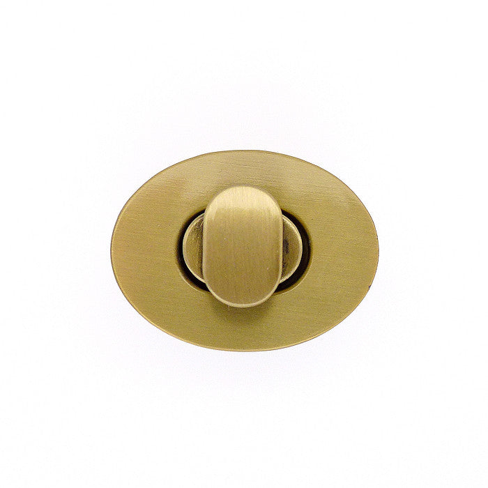 Purse Twist Turn Lock - Small Oval (2 colours)