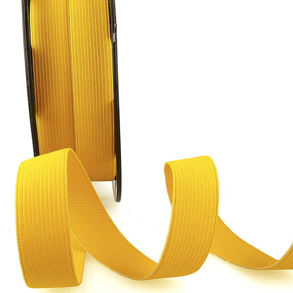 Premium Ribbon Elastic Headband 15mm - SUNNY YELLOW