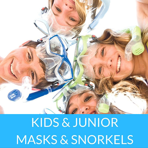 Kids/Junior Maks & Snorkels