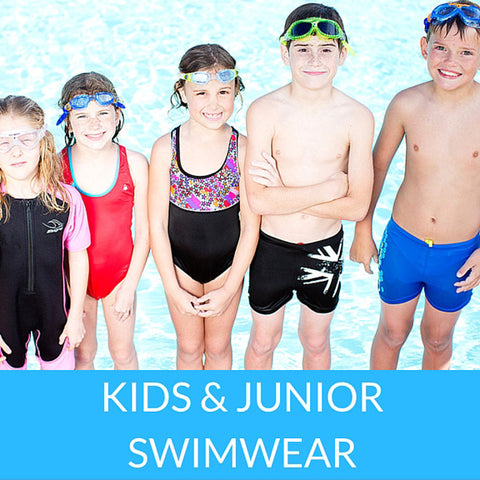 Kids/Junior Swimsuits & Rash Guards