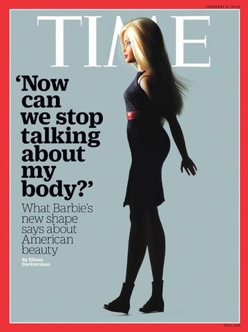 Barbie Time Magazine Cover