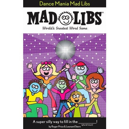 Mad Libs- Dance Mania - Activity Books - Anglo Dutch Pools and Toys