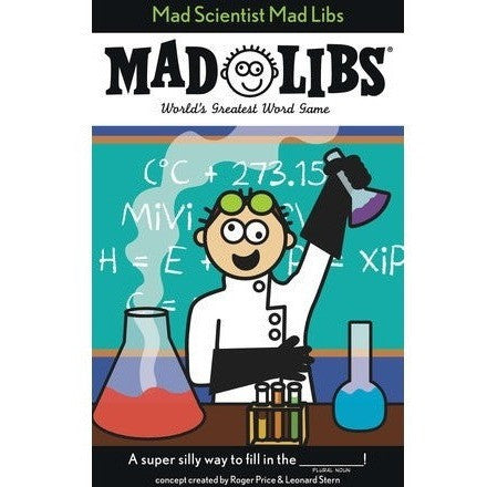 Activity Books - Mad Libs- Mad Scientist
