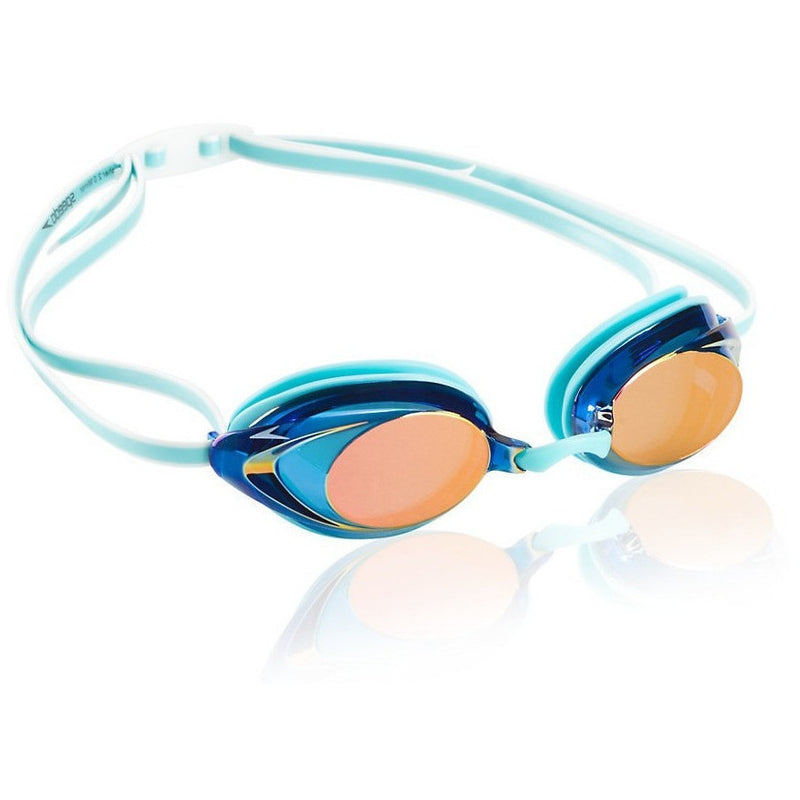 285d54ae41f ... Speedo Women s Vanquisher 2.0 Mirrored Goggle - Adult Racing Goggles -  Anglo Dutch Pools and Toys ...