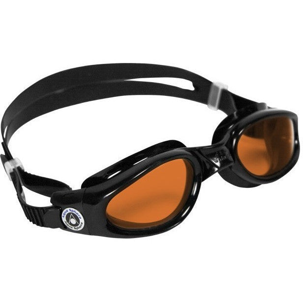 Aqua Sphere Kaiman Regular Fit - Amber Lens - Adult Recreational Goggles - Anglo Dutch Pools and Toys