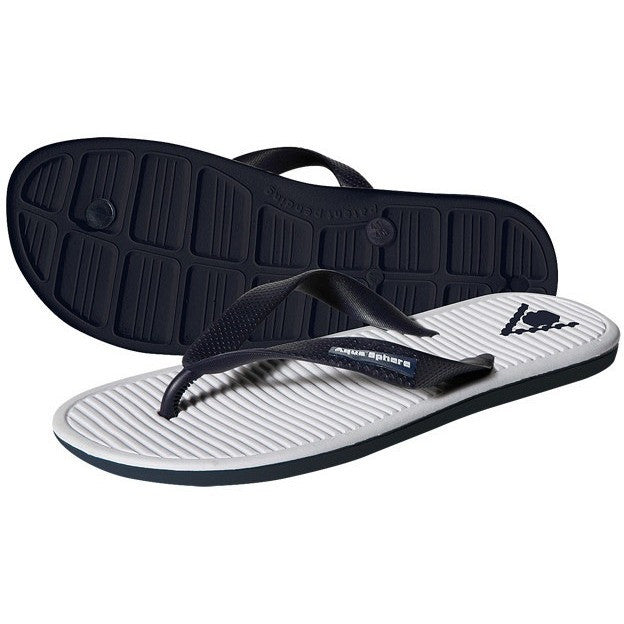 Aqua Sphere Hawaii Sandals- Navy & White - Adult Sandals and Flip Flops - Anglo Dutch Pools and Toys