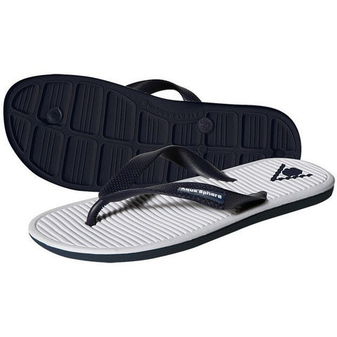 Aqua Sphere Hawaii Sandals- Navy & White- - Anglo Dutch Pools & Toys