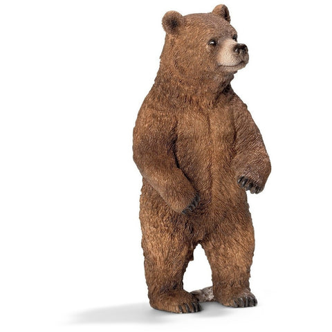 Animal Figures - Schleich Grizzly Bear, Female Figure