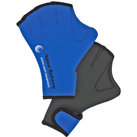 Aqua Sphere Webbed Swim Gloves - Aquatic Exercise and Training - Anglo Dutch Pools and Toys
