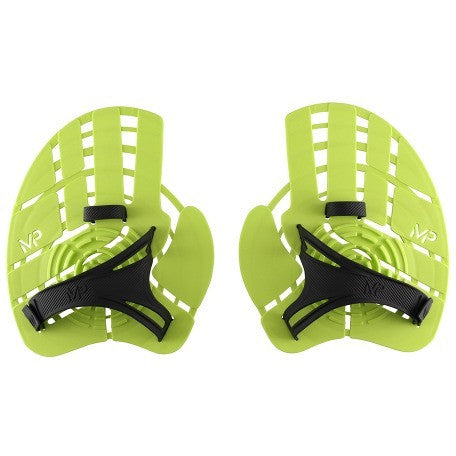 Aqua Sphere MP Strength Paddle Neon Yellow - Aquatic Exercise and Training - Anglo Dutch Pools and Toys