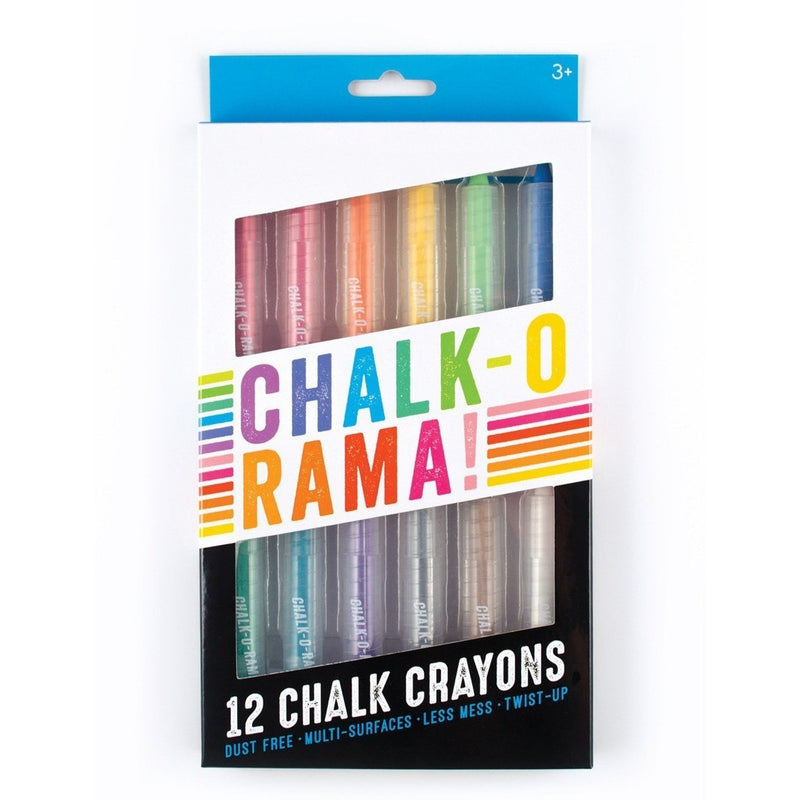 Art Supplies - International Arrivals Chalk-O-Rama Dustless Chalk Crayons