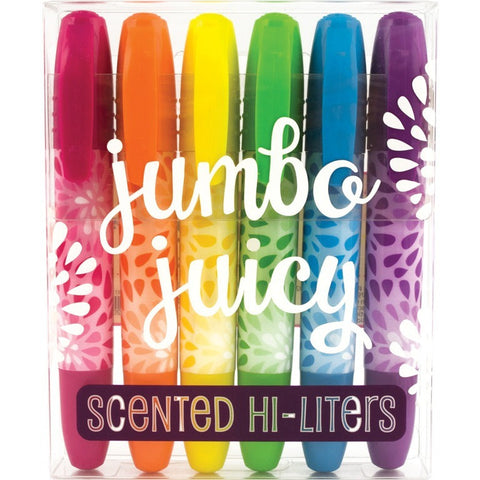 International Arrivals Jumbo Juicy Scented Hi-Liters - Art Supplies - Anglo Dutch Pools and Toys