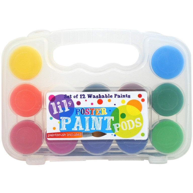 International Arrivals lil' Poster Paint Pods - Art Supplies - Anglo Dutch Pools and Toys