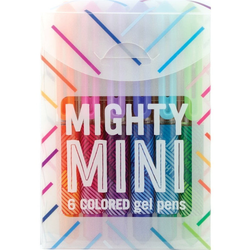 International Arrivals Mighty Mini Gel Pens - Art Supplies - Anglo Dutch Pools and Toys