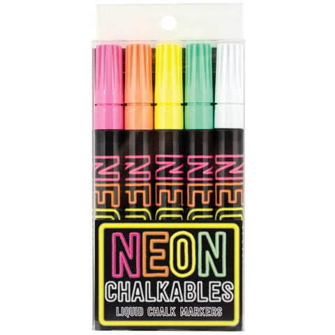 International Arrivals Neon Chalkables Liquid Chalk Markers - Art Supplies - Anglo Dutch Pools and Toys