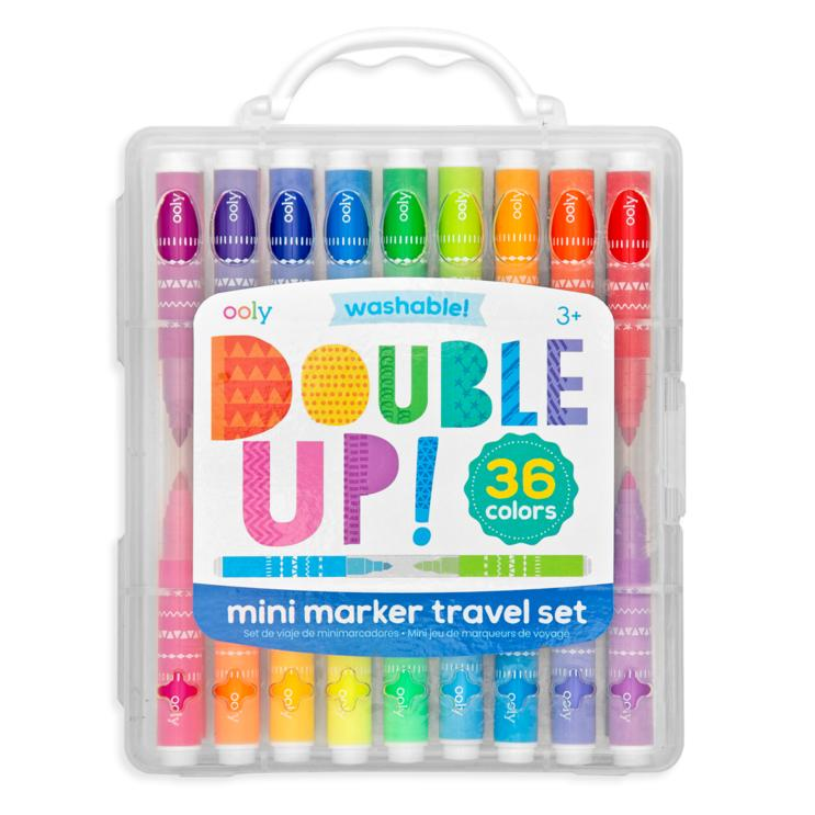 Art Supplies - OOLY Double Up! 2-in-1 Mini Markers